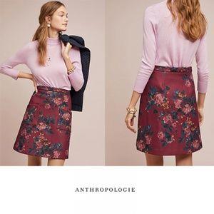 *FIRM* NWT ANTHRO Modest Mindy Mini Skirt Size 10